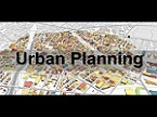 Help to write Topics on Urban Planning for GIS Dissertation